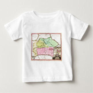 1720 Weigel Map of the Caucuses including Armenia Baby T-Shirt