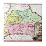 1720 Weigel Map of the Caucuses including Armenia Ceramic Tiles