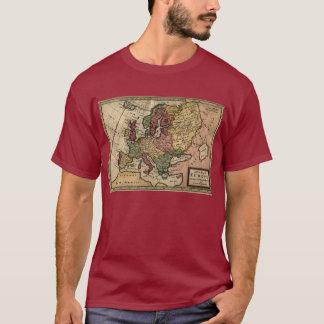 1721 Map of Europe T-Shirt