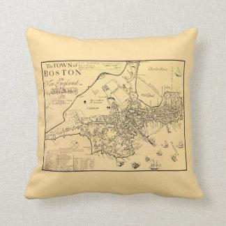 1722 Boston - almohada de tiro