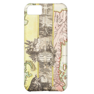 1725 Homann Map of the Caspian Sea and Kamchatka iPhone 5C Case