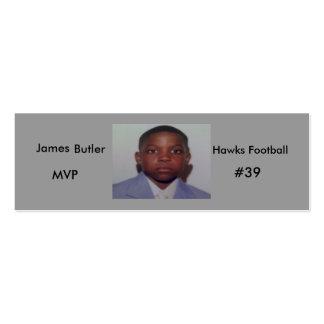 172606 james 100x75, James, Hawks Football, MVP... Business Cards