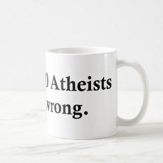 172,000,000 Atheists Coffee Mug