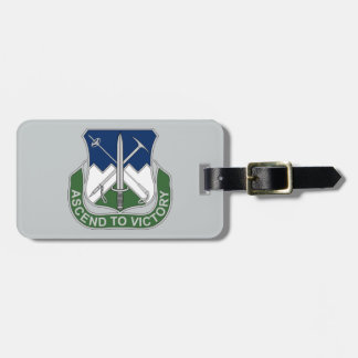 172nd Infantry Regiment - Ascend To Victory Luggage Tag