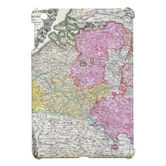 1730 Homann Heirs Map of Belgium and Luxembourg Case For The iPad Mini