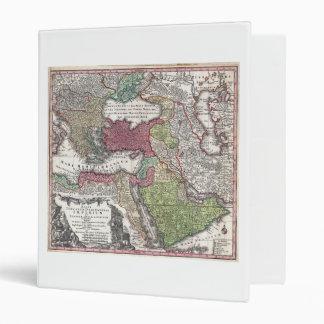 1730 Seutter Map of Turkey (Ottoman Empire) Binder