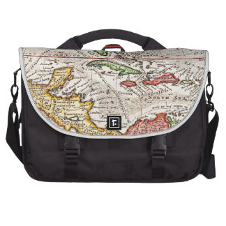 1732 Herman Moll Map of the West Indies and Caribb Laptop Computer Bag