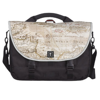 1732 Herman Moll Map of the West Indies Florida Commuter Bag