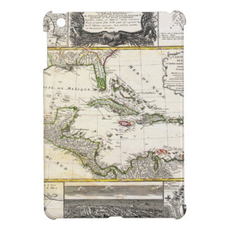 1737 Homann Heirs D'Anville Map of Florida and iPad Mini Case