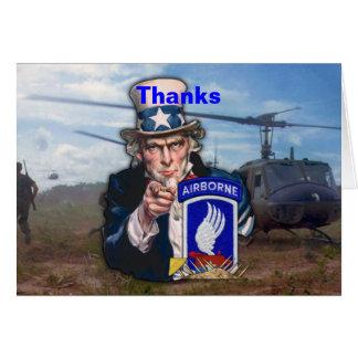 173a tarjeta de remiendo del nam de la brigada aer