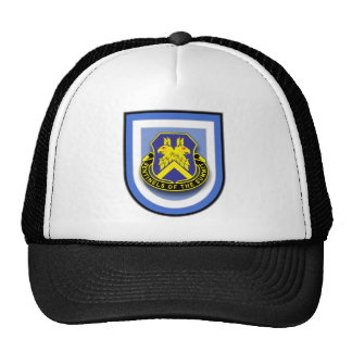 173d Airborne - 110th Military Intelligence flash Trucker Hat
