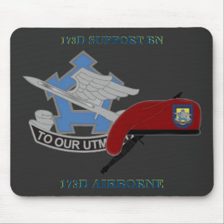 173D SUPPORT BATTALION 173D AIRBORNE MOUSEPAD