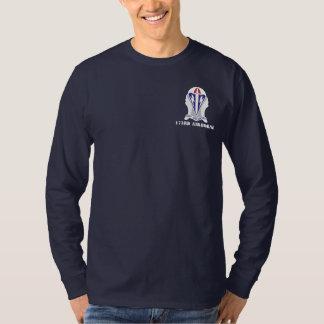 173o Camiseta larga de la manga de la brigada Playera
