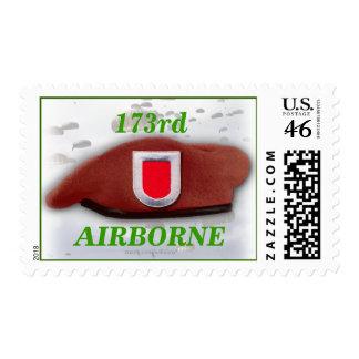 173o sello aerotransportado del veterinario de la
