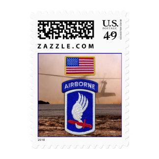 173os sellos aerotransportados del remiendo de los