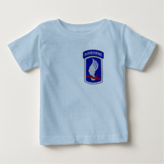173rd ABN Airborne Brigade Sky Soldiers Patch Baby T-Shirt