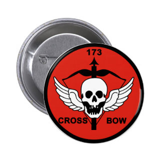 173rd AHC Crossbow Pinback Button