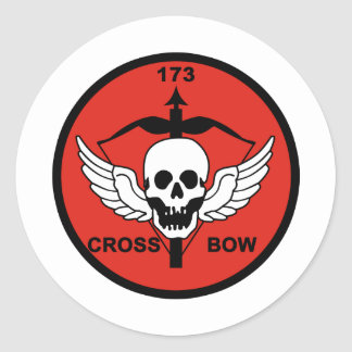 173rd AHC Crossbow Classic Round Sticker