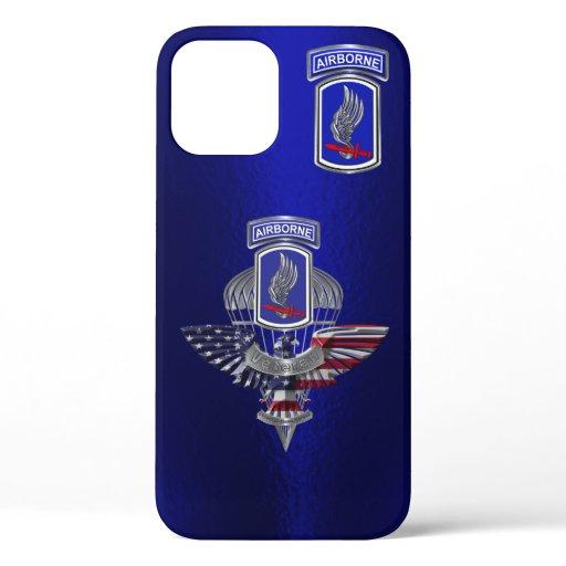 173rd Airborne Brigade Combat Team Airborne iPhone 12 Case