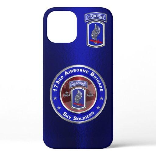 173rd Airborne Brigade Combat Team Customized iPhone 12 Case