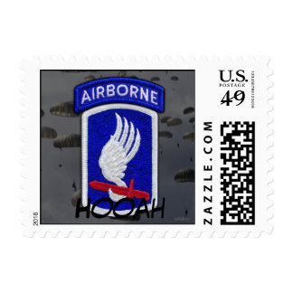 173rd Airborne Brigade Sky Soldiers vets patch Postage