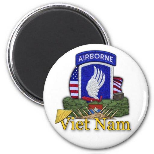 173rd airborne brigade vietnam vc rvn vets Magnet Refrigerator Magnets