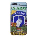 173rd airborne brigade vietnam war i iPhone 5 case