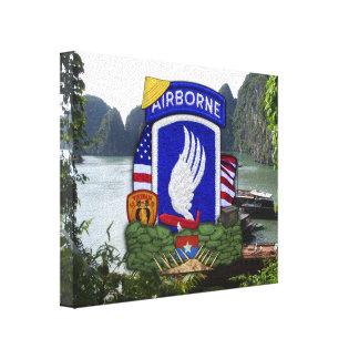 173rd airborne brigade vietnam war veterans vets c canvas print