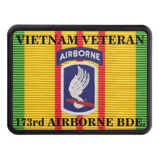 173rd Airborne Brigade VSM Ribbon Hitch Cover