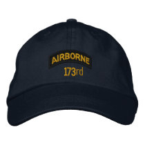 173rd Airborne Embroidered Baseball Cap