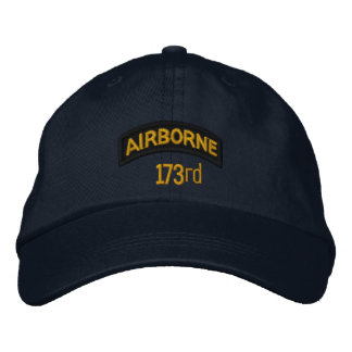 173rd Airborne Embroidered Hats