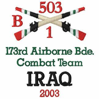 173rd Airborne IBCT Crossed Rifles Shirt