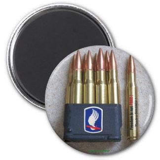 173rd airborne patch vet magnet vfw army garand