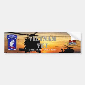 173rd airborne sky soldiers vietnam nam war bumper sticker