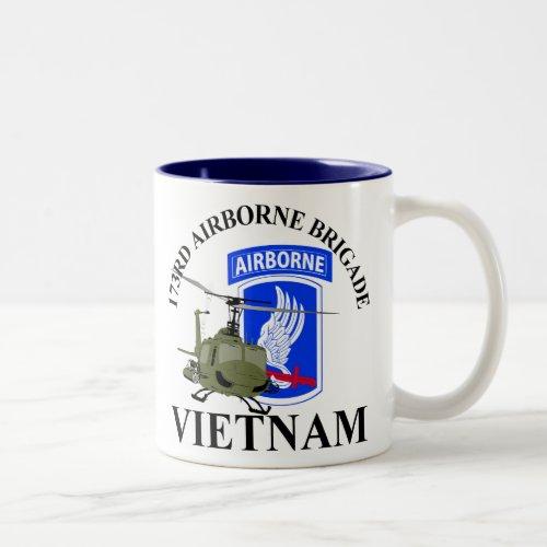 173RD Airborne Vietnam Two_Tone Coffee Mug