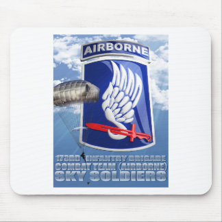 173RD Patch and T-11 Parachute Mouse Pad