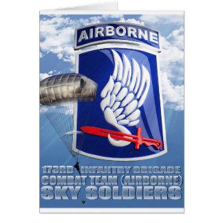 173RD Remiendo y paracaídas T-11 Tarjetón