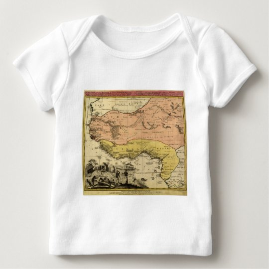 1743 West Africa Map Baby T-Shirt