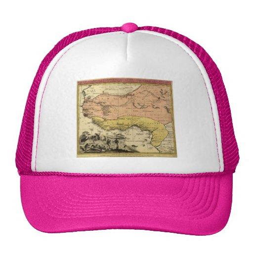 1743 West Africa Map Trucker Hat