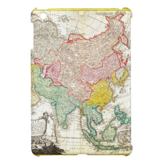 1744 Homann Heirs Map of Asia Geographicus Asi iPad Mini Cover