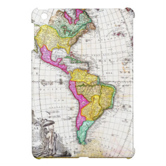1746 Homann Heirs Map of South North America iPad Mini Covers
