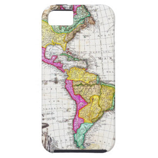1746 Homann Heirs Map of South North America iPhone 5 Covers