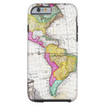 1746 Homann Heirs Map of South North America iPhone 6 Case