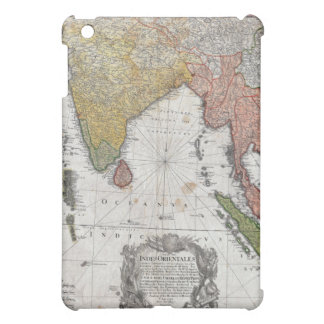 1748 Homann Heirs Map of India and Southeast Asia Cover For The iPad Mini