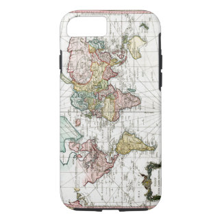 1748 World Map iPhone 7 Case