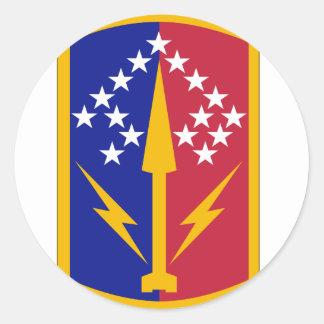 174 Air Defense Artillery Brigade Classic Round Sticker