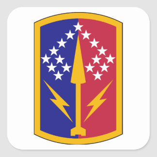 174th Air Defense Artillery Brigade Square Sticker