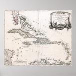 1750 West Indies Poster