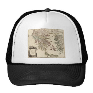 1752 Map of Ancient Greece Trucker Hat
