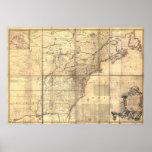 1757 - trece colonias póster
